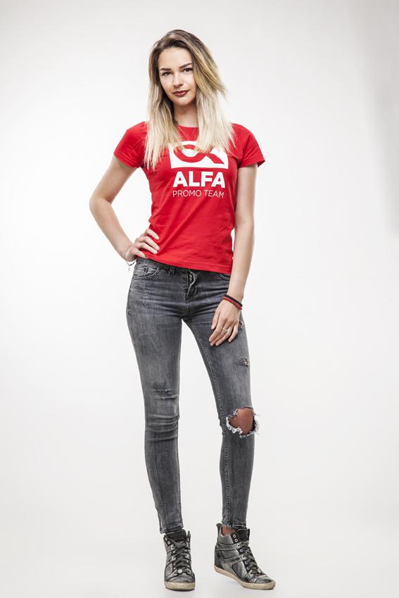 Milica S. - Hostese, promoterke, modeli Alfa Promo Team