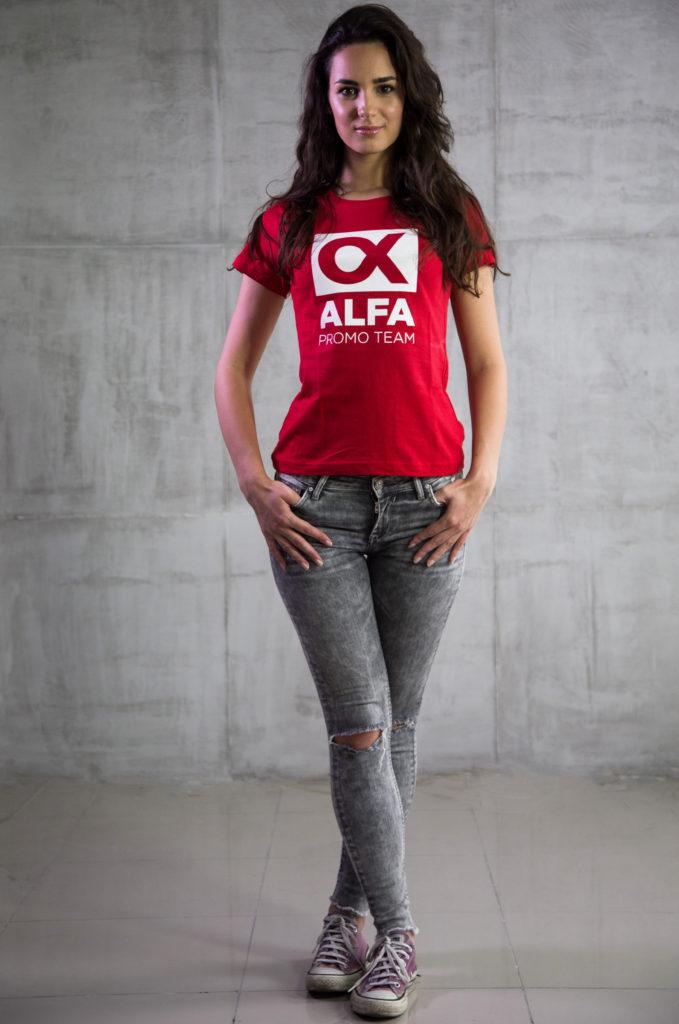 Irina G. - Hostese, promoterke, modeli Alfa Promo Team